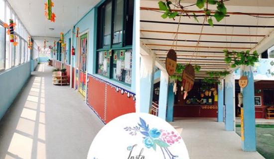 我爱我家 ——幼儿园环境创设报道(图)