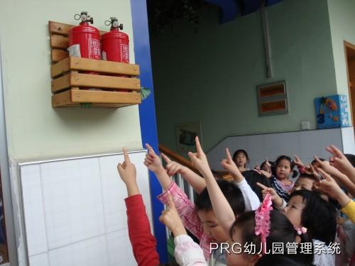 幼儿园安全教育系列活动报道